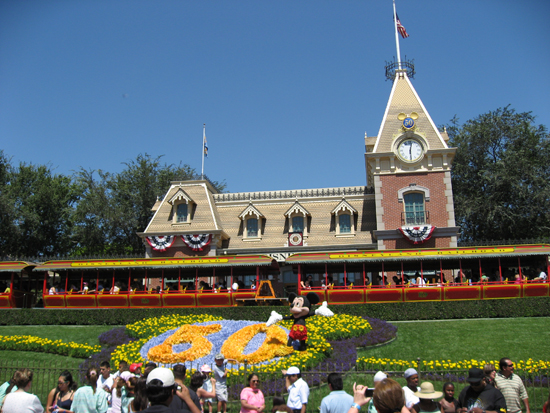 Train Depot at Disneyland